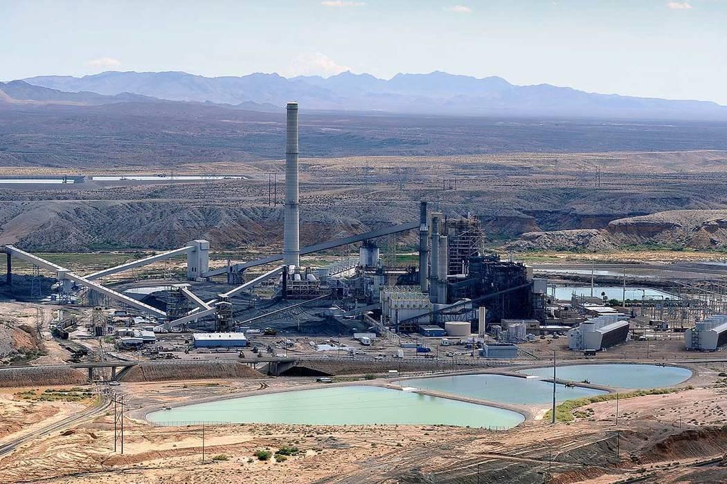 The Reid Gardner Generating Station, a 557-megawatt coal-fired plant in Moapa, Sept. 9, 2014. T ...
