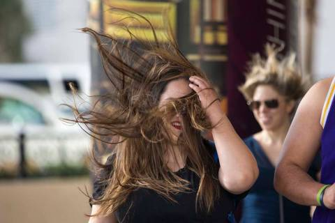 The National Weather Service has issued the wind advisory for 11 a.m. to 9 p.m. Thursday, with ...