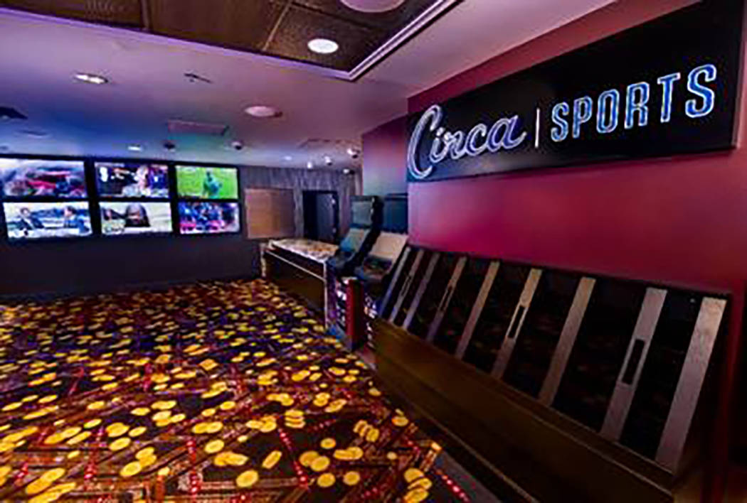 The updated sportsbook at the D Las Vegas. (courtesy)