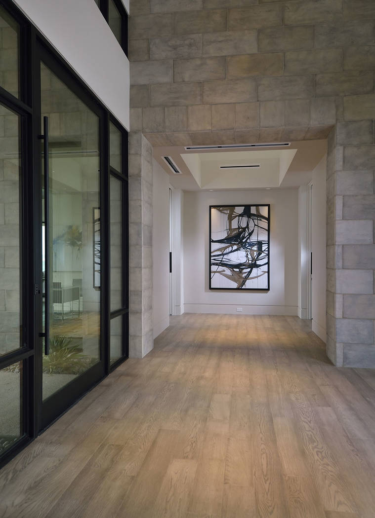 The home's foyer. (The Bill Hughes Real Estate Millions)