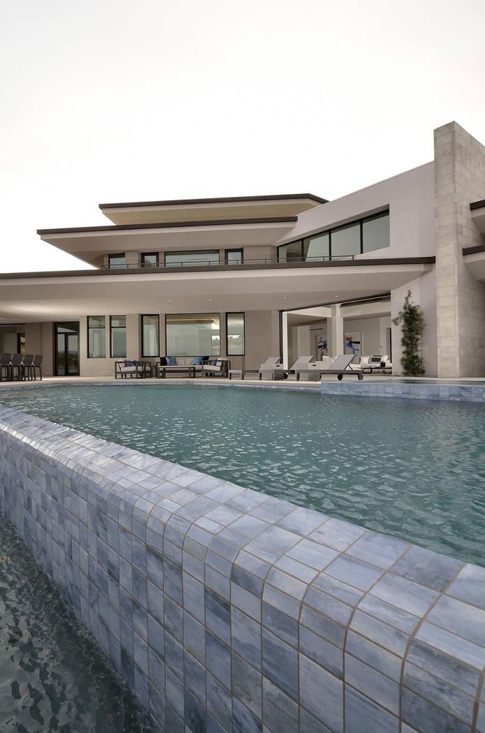 The Lake Las Vegas showcase home was designed by Arizona-based Swaback Architects + Planners. ...