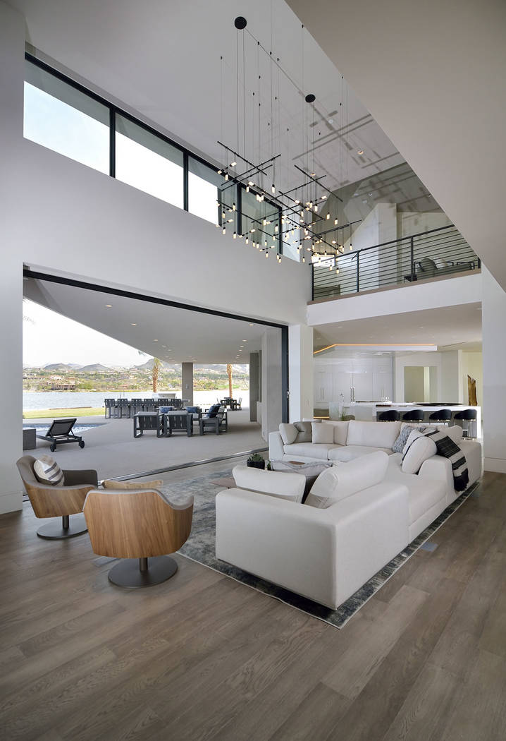 The Lake Las Vegas showcase home at North Shore is listed for $7.5 million. (Bill Hughes Real E ...