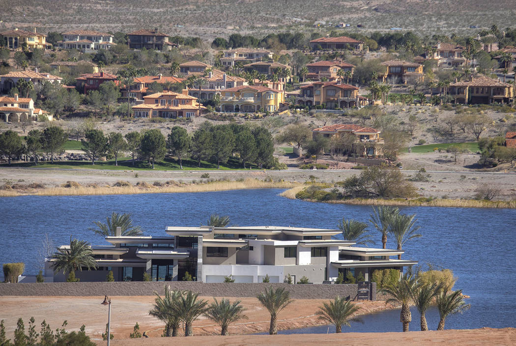 Water's Edge is in North Shore at Lake Las Vegas. (Synergy/Sotheby's International Realty)