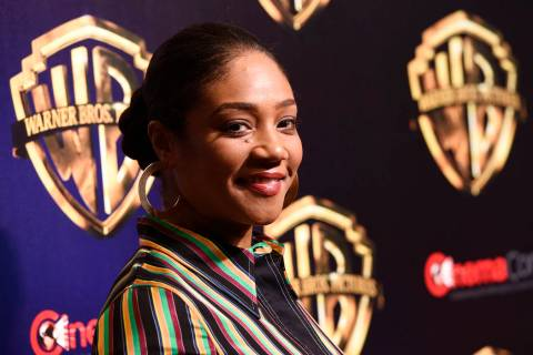 "Tiffany Haddish, a cast member in the upcoming film ""The Kitchen,"" poses before the W ..."