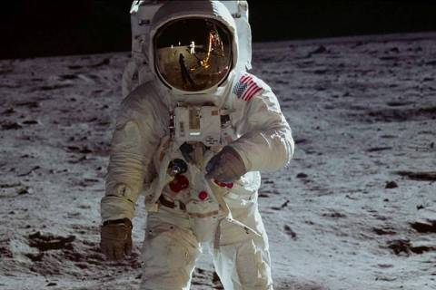 "The documentary ""Apollo 11"" airs Sunday on CNN. (Neon/CNN Films)"