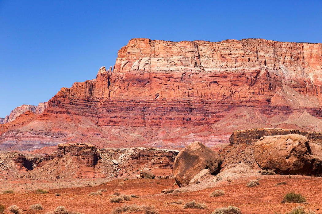 The Vermilion Cliffs in northern Arizona. (Getty Images)