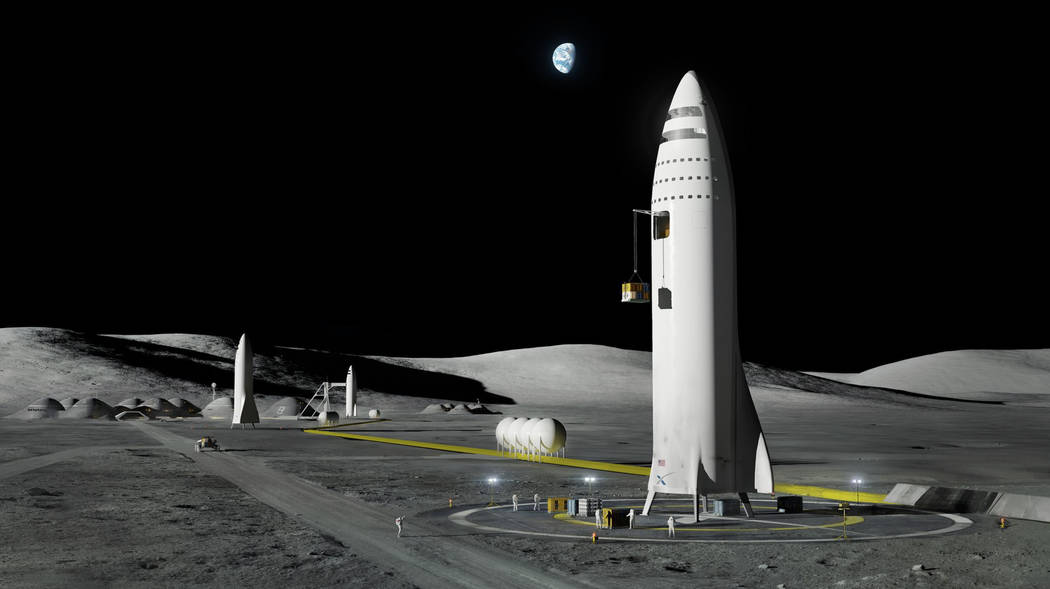 FILE - This artist's rendering made available by SpaceX on Friday, Sept. 29, 2017 shows the com ...
