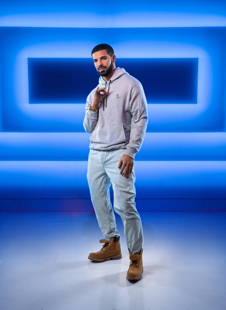 Drake's wax figure is shown at Madame Tussauds at the Venetian. (Key Lime photo)