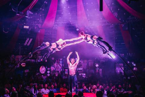 "Green Fairy's Bottle Service is shown in performance in ""Absinthe"" on Wednesday, June 19, 2019. ..."
