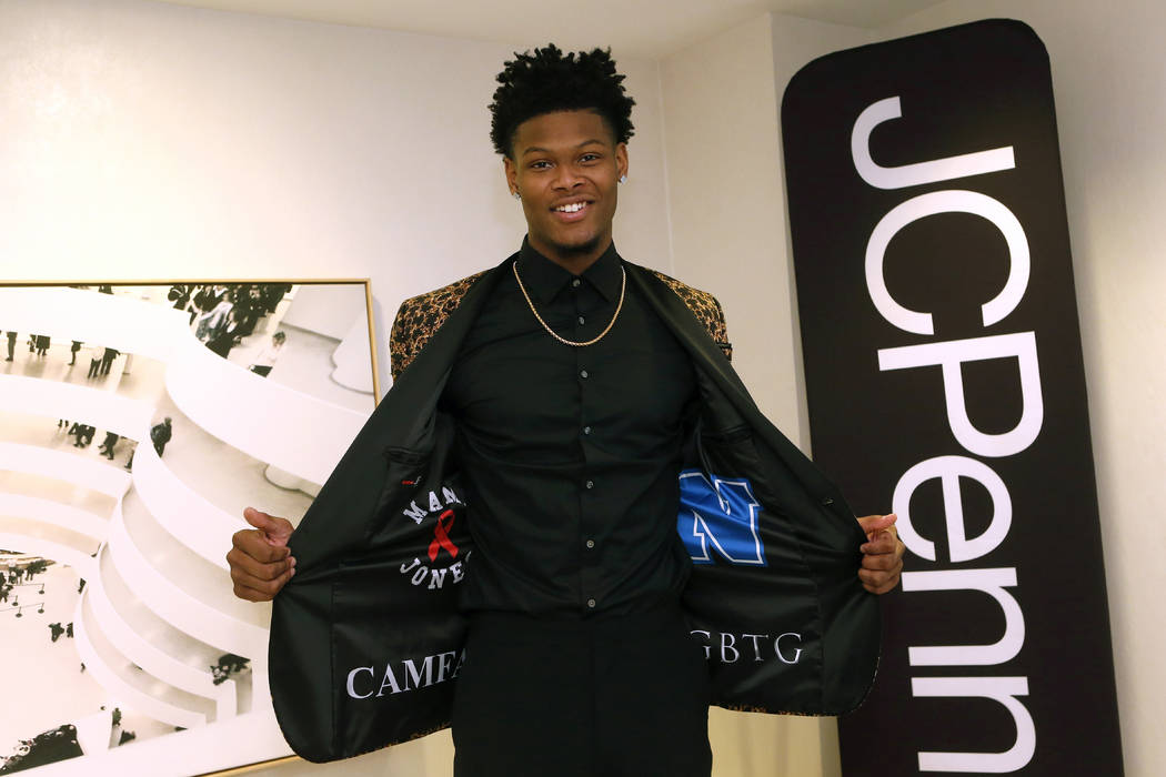 Top NBA Draft prospect Cam Reddish partners with JCPenney to show off his style as he heads to ...