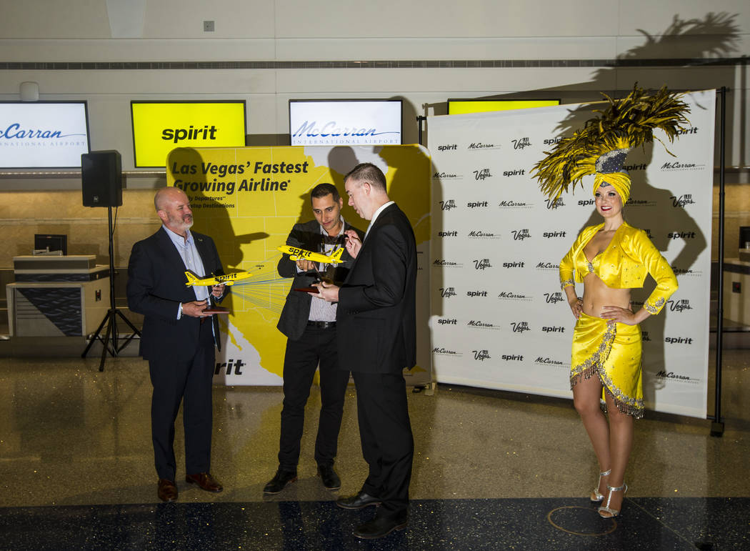 H. Fletch Brunelle, vice president of marking at the Las Vegas Visitors and Convention Authorit ...