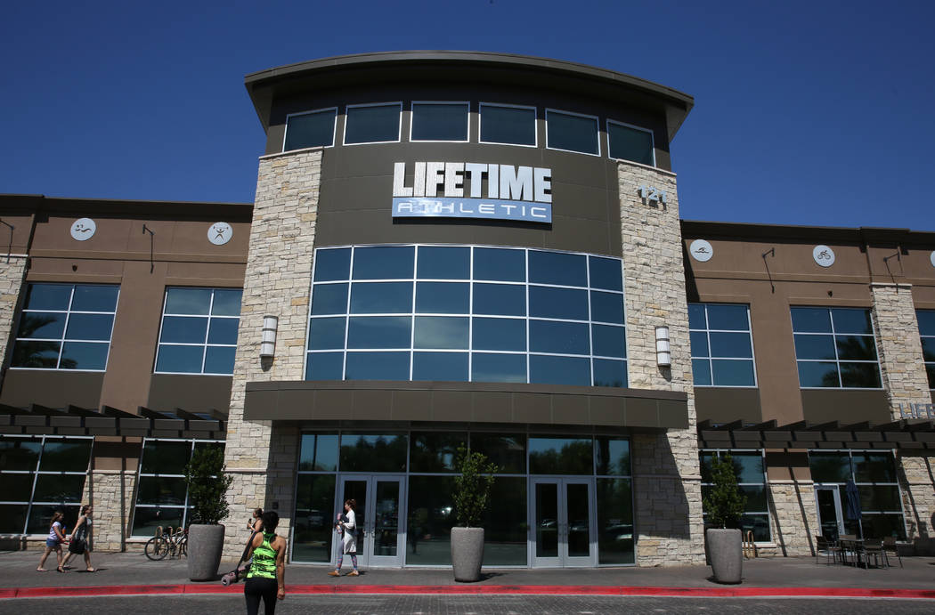 Life Time Athletic photographed on Monday, June, 3 2019, in Henderson. (Bizuayehu Tesfaye/Las V ...