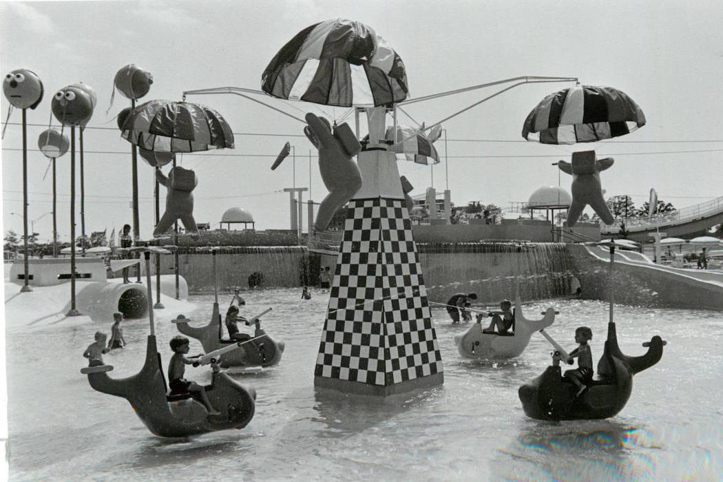 Children play in the kids area of Wet'n'Wild on Las Vegas Boulevard. (Las Vegas Review-Journal ...