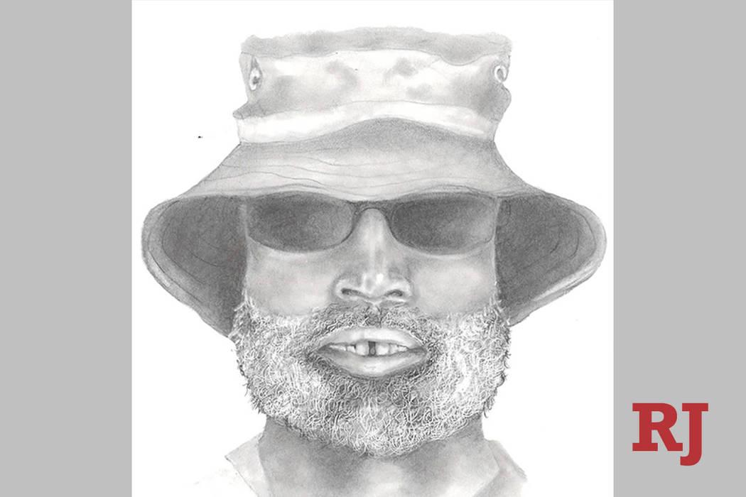 Sketch of sexual assault suspect at W. Wayne Bunker Family Park. (Las Vegas Metropolitan Police ...