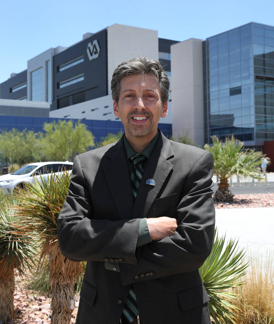 Director of Veterans Affairs Southern Nevada Healthcare System, Air Force and Navy veteran, Wil ...