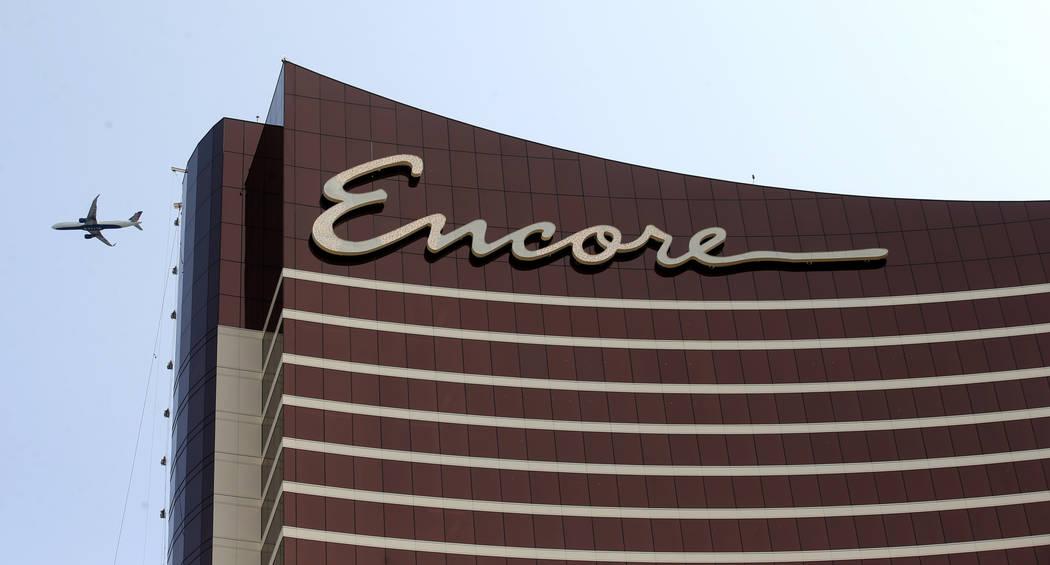 Encore Boston Harbor in Everett, Mass., Saturday, June 22, 2019. The $2.6 billion, 671-room res ...