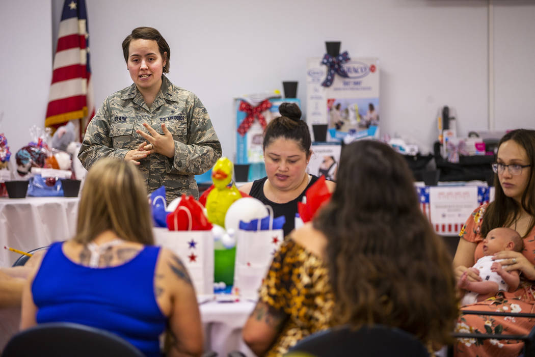 1st Lt. Montana Clark as an RN with the Nellis AFB Labor & Delivery unit talks about their serv ...