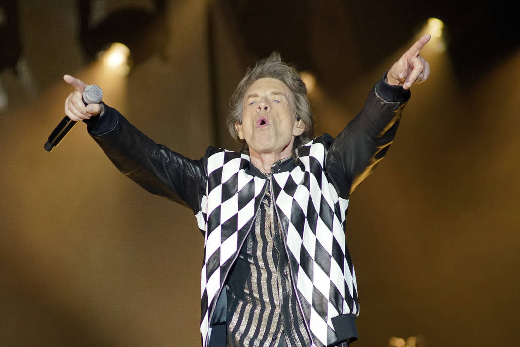"""Mick Jagger of the Rolling Stones performs during the """"No Filter"""" tour at Soldier Fie ..."""