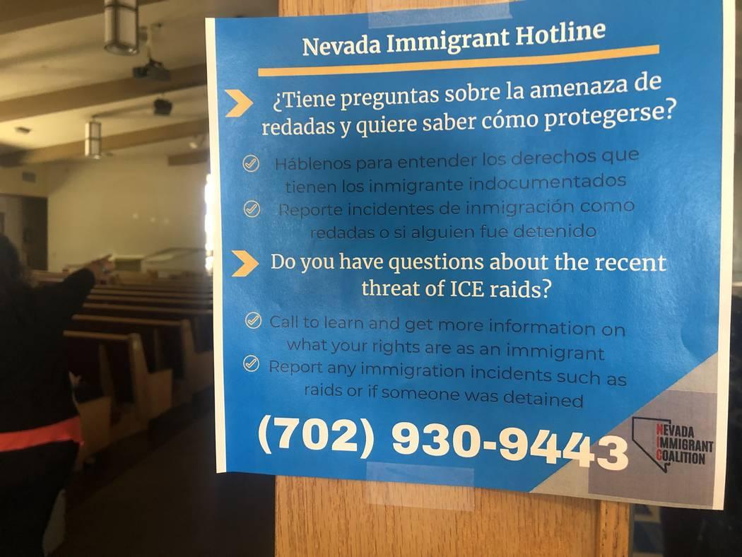 North Las Vegas forum teaches immigrant rights in case of