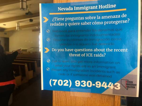 North Las Vegas forum teaches immigrant rights in case of
