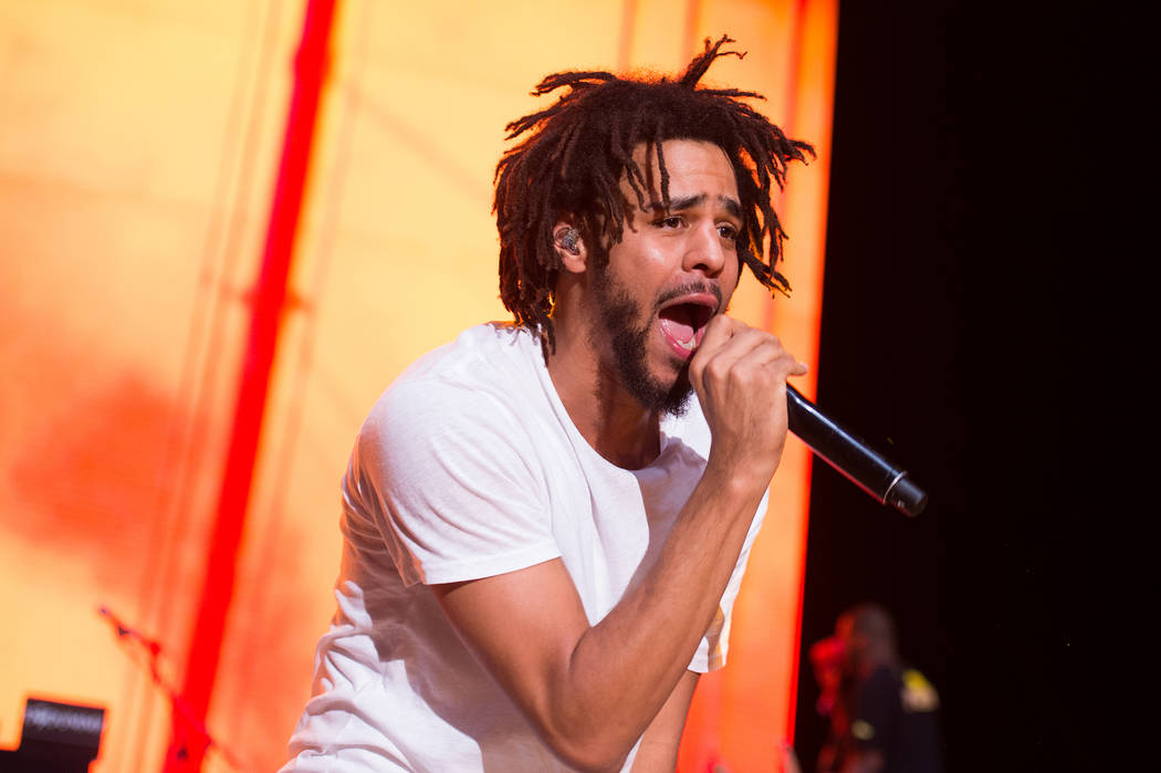 92f7c2d1527d Recording artist J. Cole performs at the 2016 Billboard Hot 100 Music  Festival at Nikon