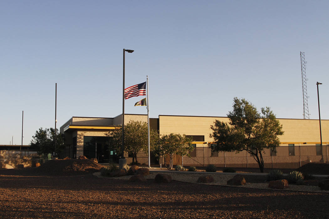 A frame from video shows the entrance of a Border Patrol station in Clint, Texas. U.S. Customs ...