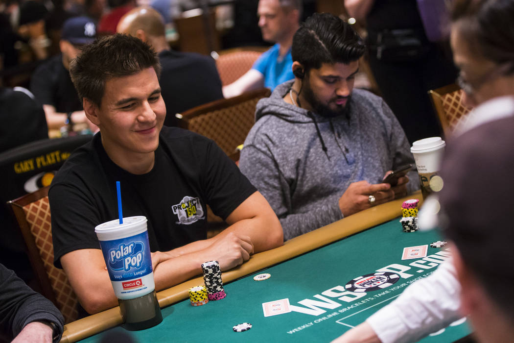 "Las Vegas resident and ""Jeopardy!"" sensation James Holzhauer competes in the $1,500 b ..."