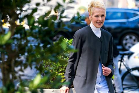 E. Jean Carroll is photographed, Sunday, June 23, 2019, in New York. Carroll, a New York-based ...