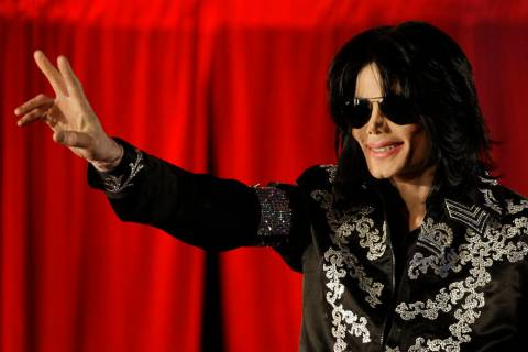 FILE - This March 5, 2009, file photo shows Michael Jackson as he announces 10 live concerts at ...