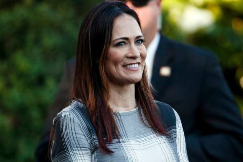Stephanie Grisham, spokeswoman for first lady Melania Trump, will be the new White House press ...