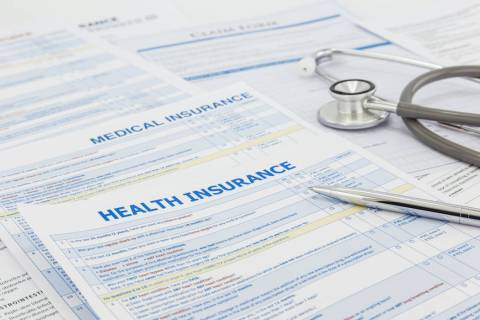 Medical insurance application (Getty Images)
