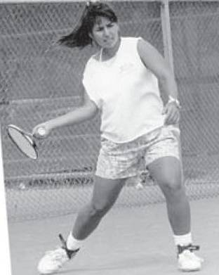 Jolene Watanabe in action for UNLV. She played for the Rebels from 1987 to 1990. Watanabe died ...