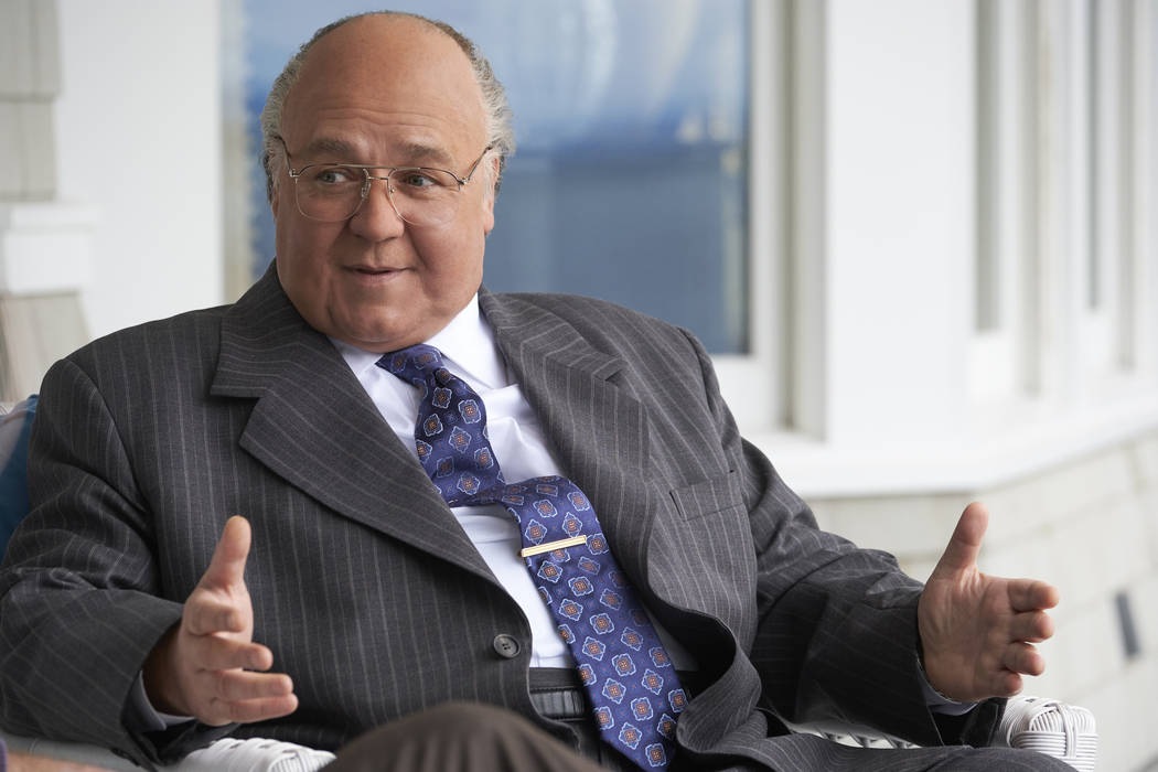"""Russell Crowe as Roger Ailes in THE LOUDEST VOICE, """"1996"""". Photo Credit: JoJo Whilden/SHOWTIME"""
