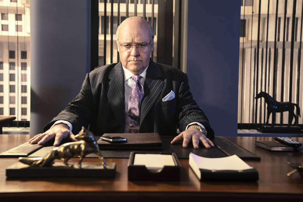 Russell Crowe as Roger Ailes in THE LOUDEST VOICE. Photo Credit: Jim Fiscus/SHOWTIME.