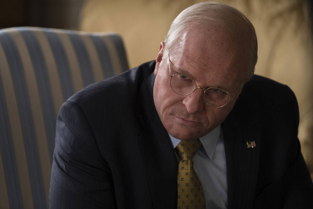 Christian Bale as Dick Cheney in Adam McKay's VICE. (Matt Kennedy / Annapurna Pictures)