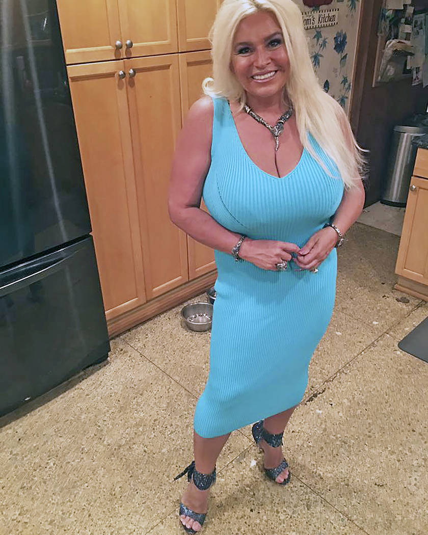 This 2017 photo provided by Mona Wood-Sword shows Beth Chapman in Honolulu. The wife of reality ...