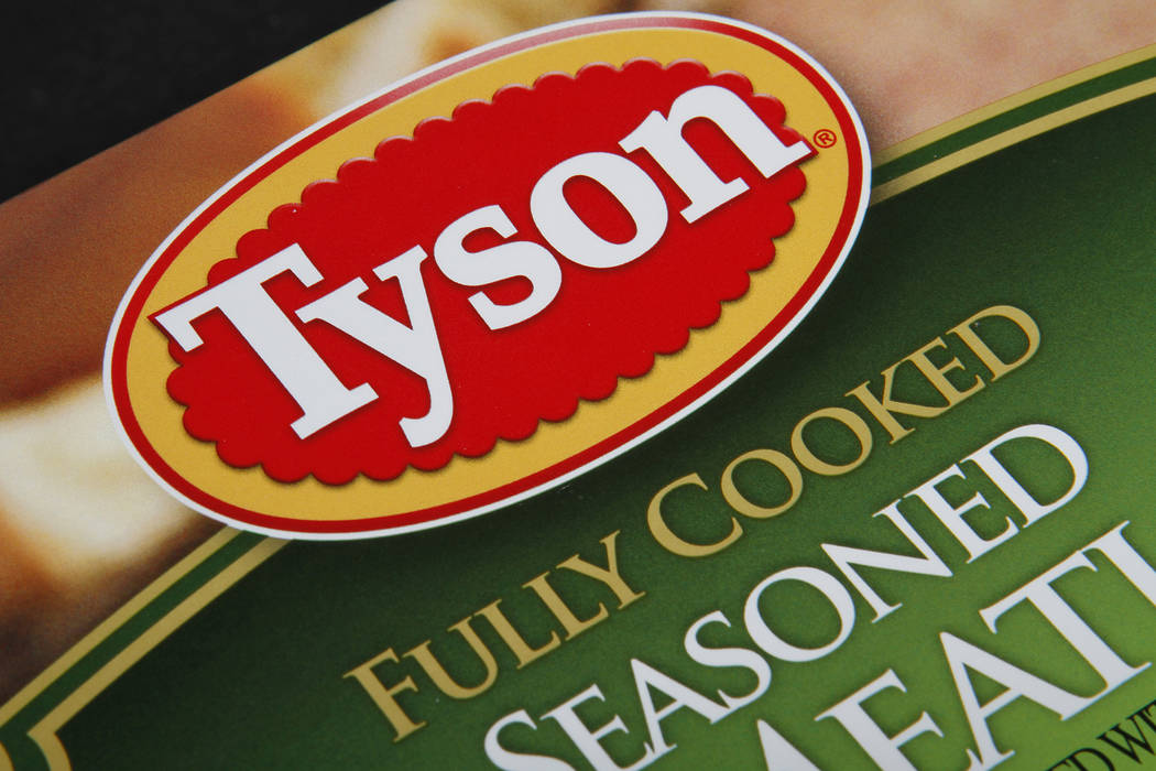 FILE - This Nov. 18, 2011, file photo, shows a Tyson food product, in Montpelier, Vt. The Depar ...