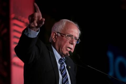 Sen. Bernie Sanders, I-Vt. (Kareem Elgazzar/The Cincinnati Enquirer via AP)