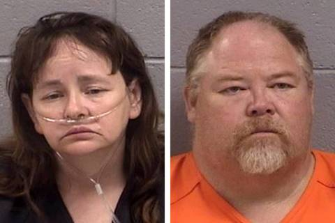 Martha Crouch, left, and Timothy Crouch (San Juan County Sheriff's Office via AP)