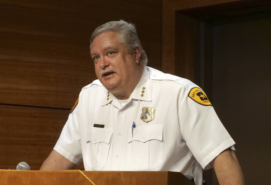 CORRECTS FIRST NAME TO MACKENZIE WITH LOWERCASE K - Salt Lake City assistant Police Chief Tim D ...