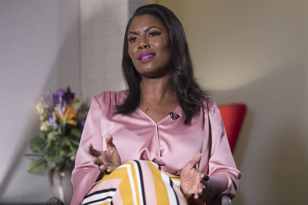 The Justice Department has filed a lawsuit against former White House aide Omarosa Manigault Ne ...