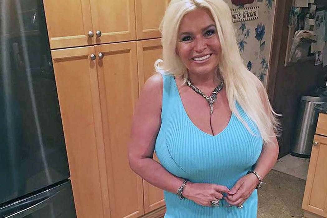 A 2017 photo provided by Mona Wood-Sword shows Beth Chapman in Honolulu. The wife of reality TV ...