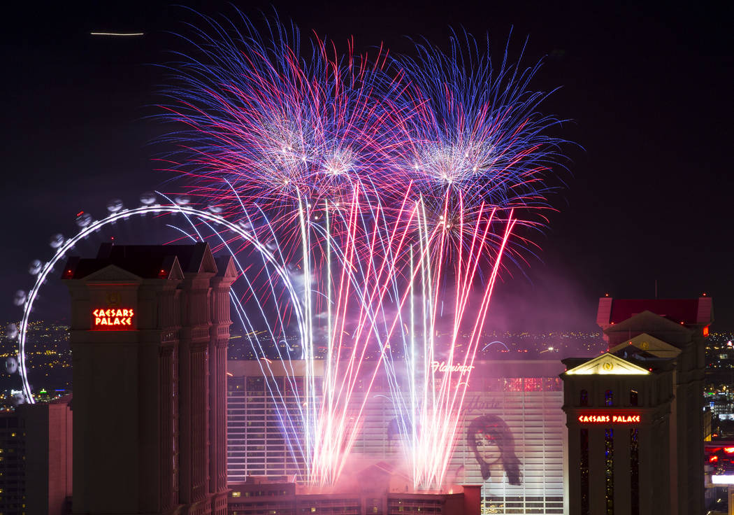 Las Vegas 4th of July 2019: Where to watch fireworks | Las