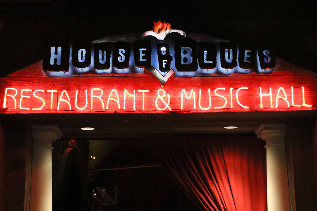 Entrance to the House of Blues at Mandalay Bay hotel-casino photographed on Friday, Feb. 22, 20 ...