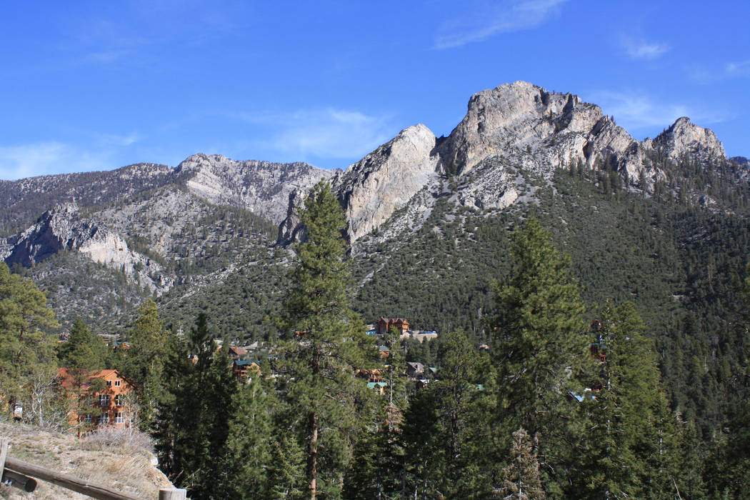 The closest day trip to find cool temperatures from Las Vegas is the Mount Charleston area of t ...