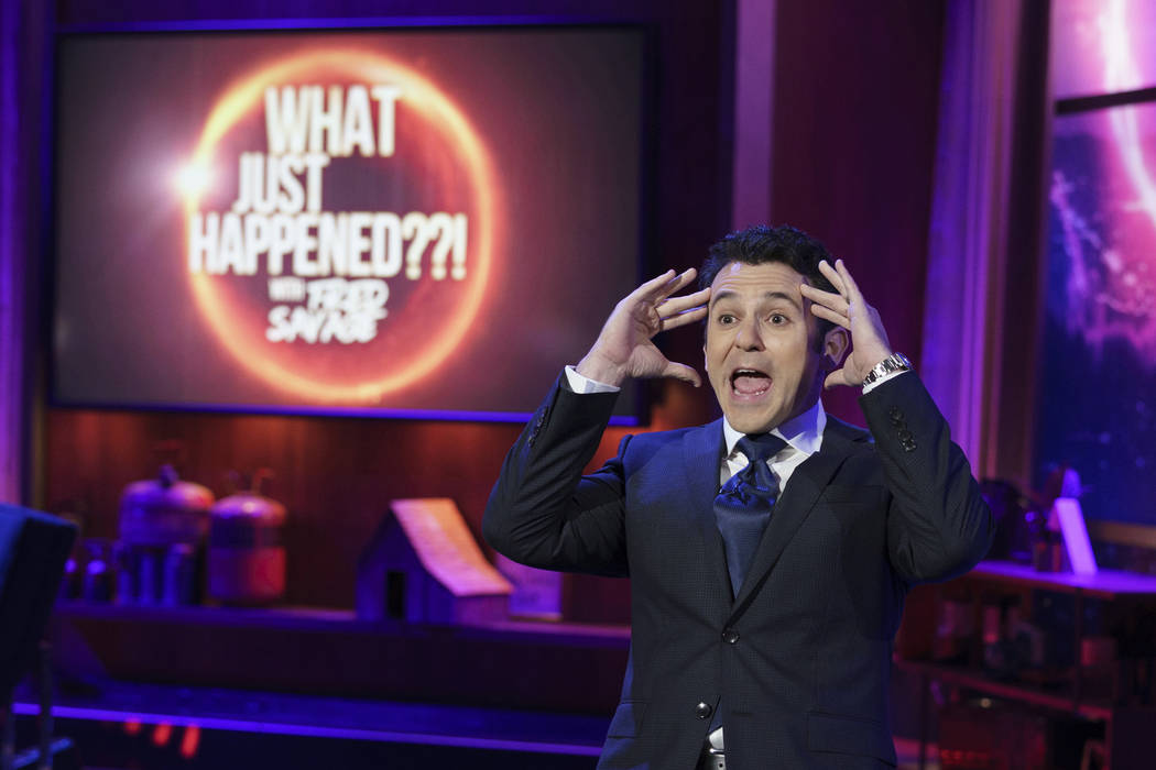 """WHAT JUST HAPPENED??! WITH FRED SAVAGE: Host Fred Savage in the """"Assistant"""" episode o ..."""