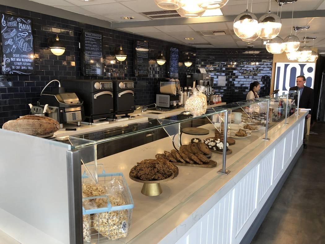 The eatery 108 Eats at the Strat is shown on Tuesday, June 25, 2019 (John Katsilometes/Las Vega ...
