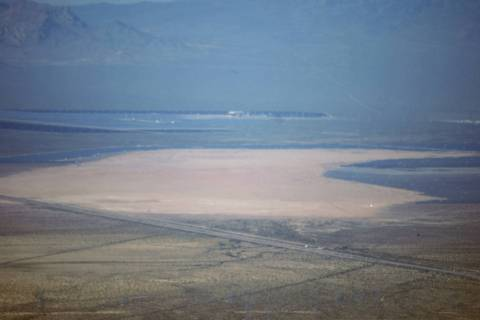 Boulder City will close the Eldorado Dry Lake Bed for three days next week to avoid trouble dur ...