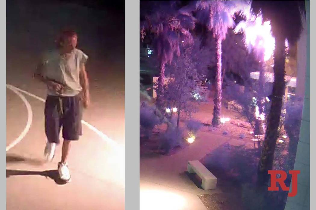 Screen shots from security footage at the Gay and Lesbian Community Center of Souther ...