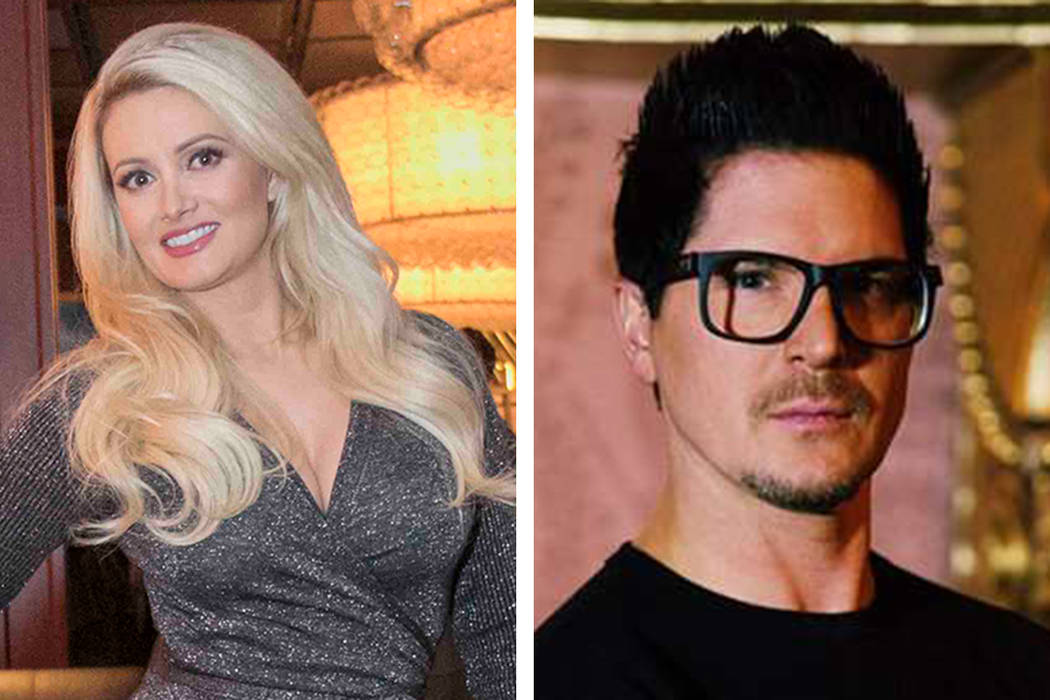 Holly Madison, left, and Zak Bagans are going out together, sources close to the couple confirm ...